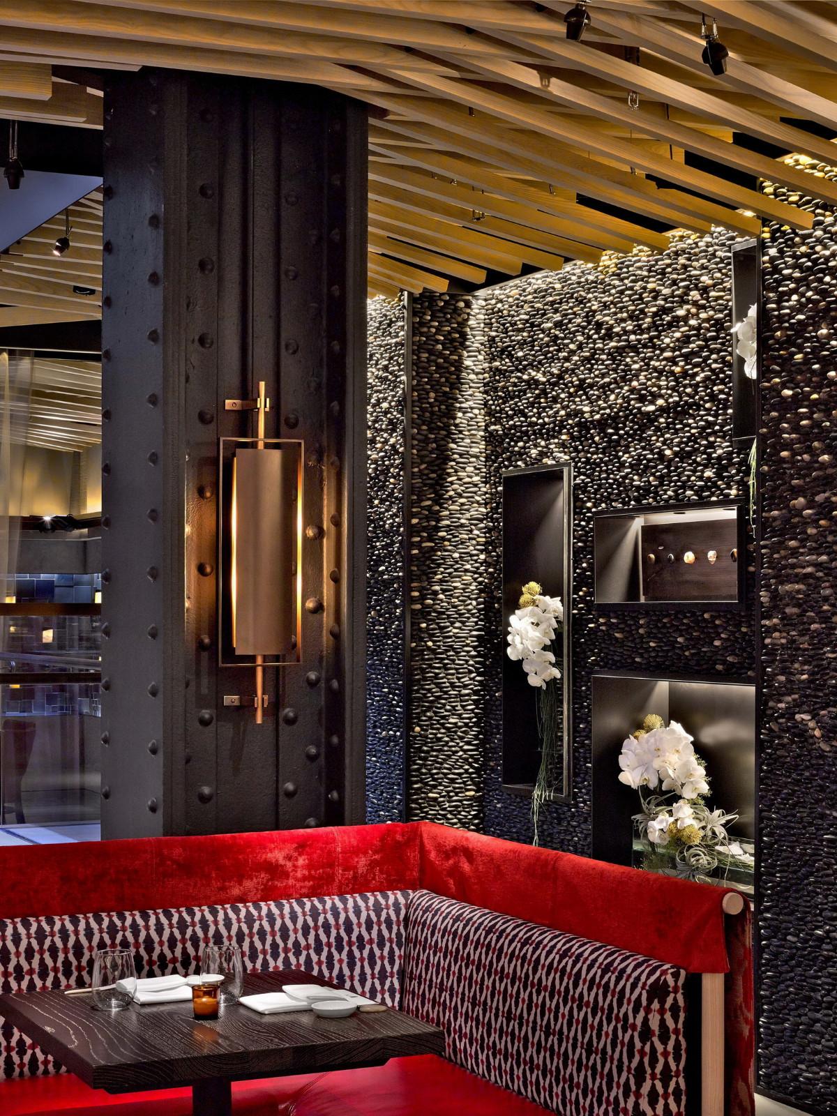 曼哈顿餐厅就餐区设计
