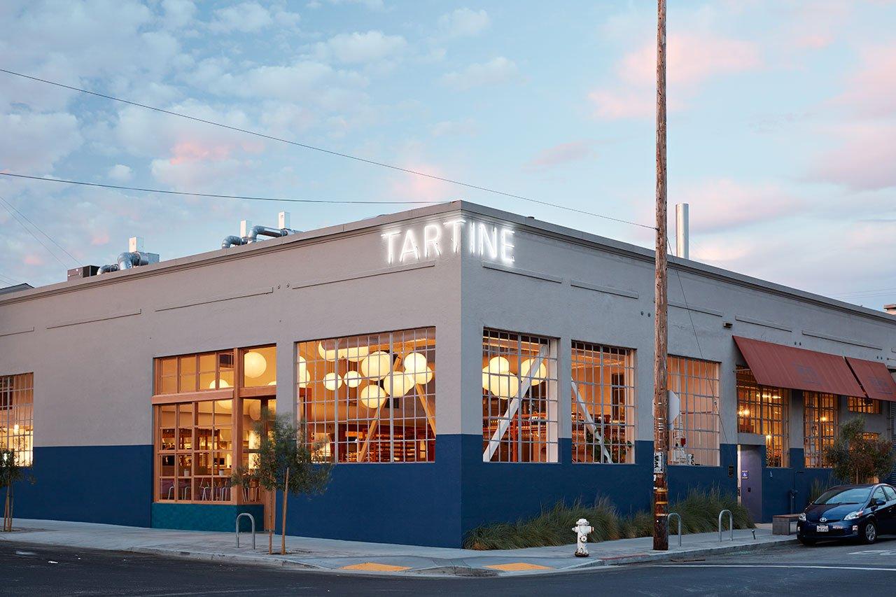 面包工坊主题西餐厅外部景观设计