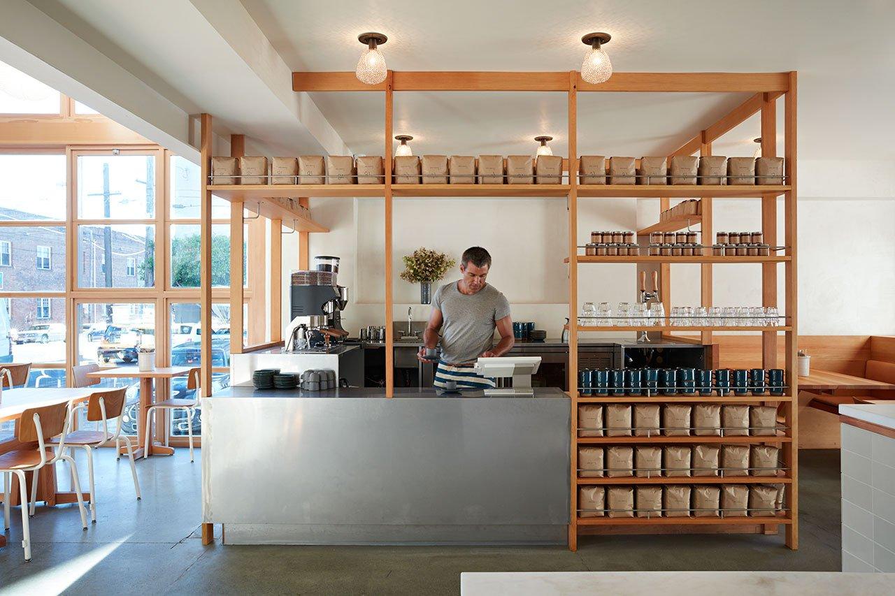 面包工坊主题西餐厅操作区设计