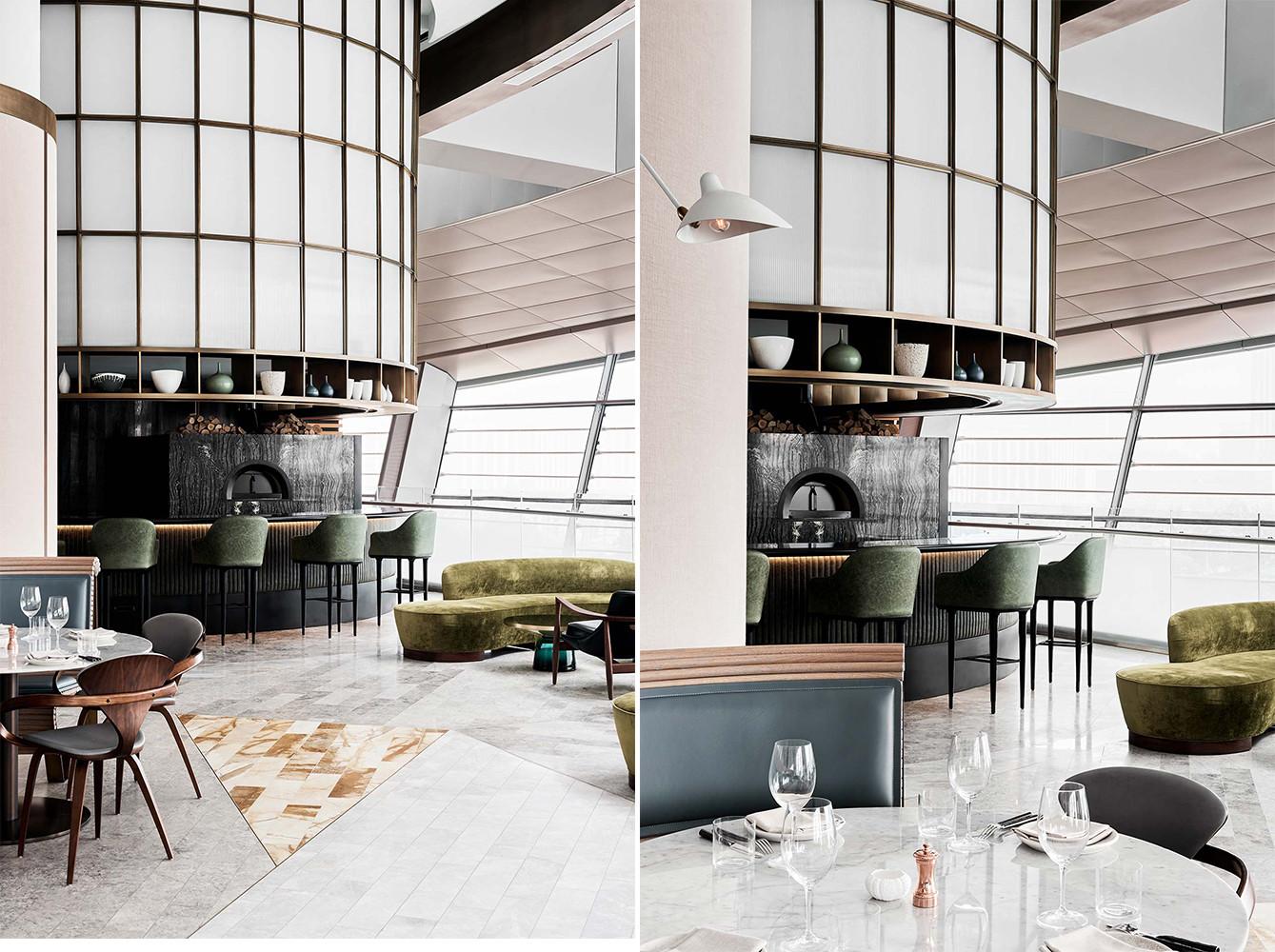 迪拜主题餐厅就餐区设计