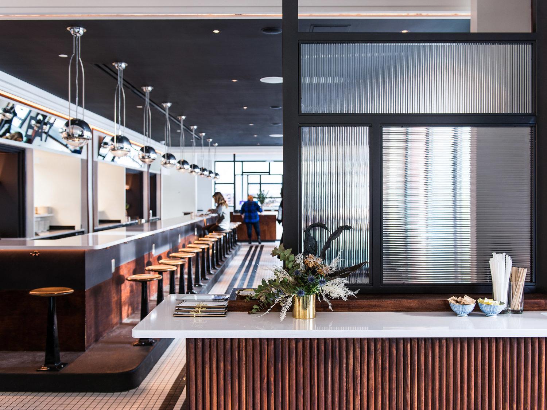咖啡轻食餐厅就餐区设计