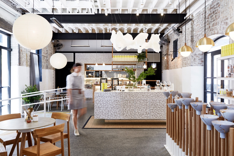 The Rabbit Hole Matt Woods 主题餐厅操作区设计