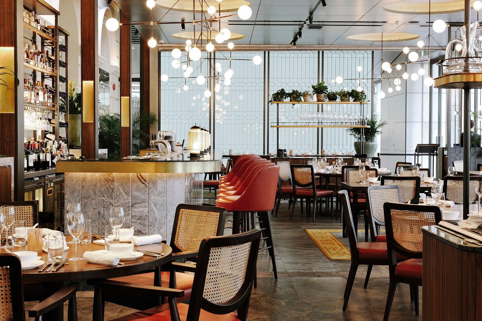 中式餐厅就餐区设计