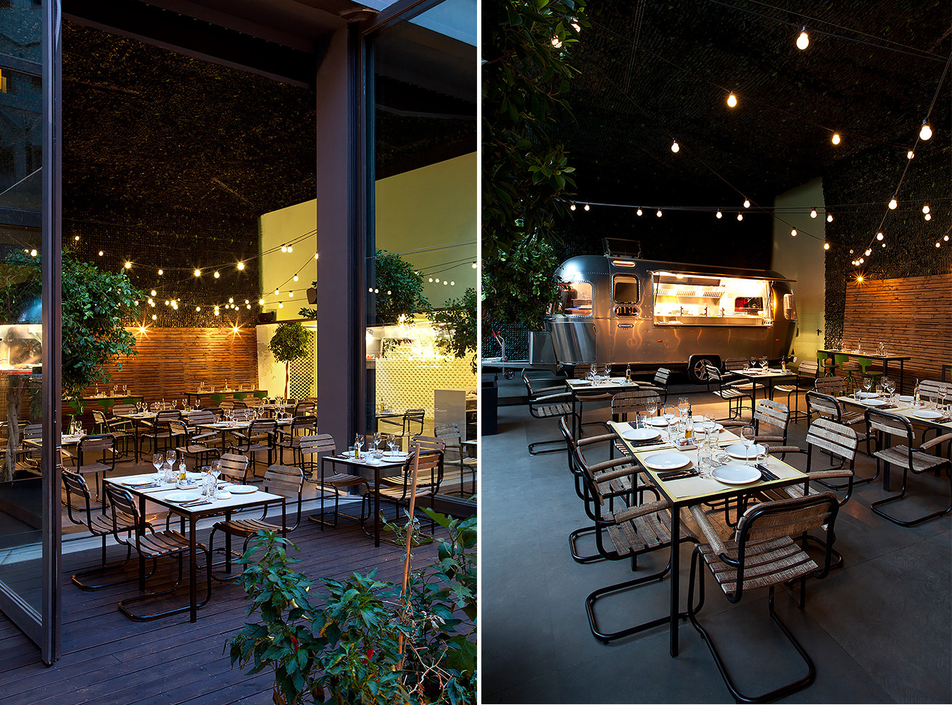 Urban Garden西餐厅就餐区设计