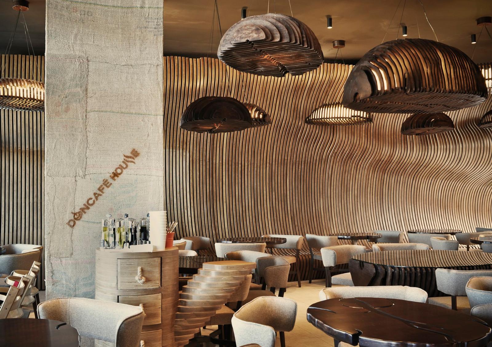 Café House咖啡厅餐厅就餐区设计