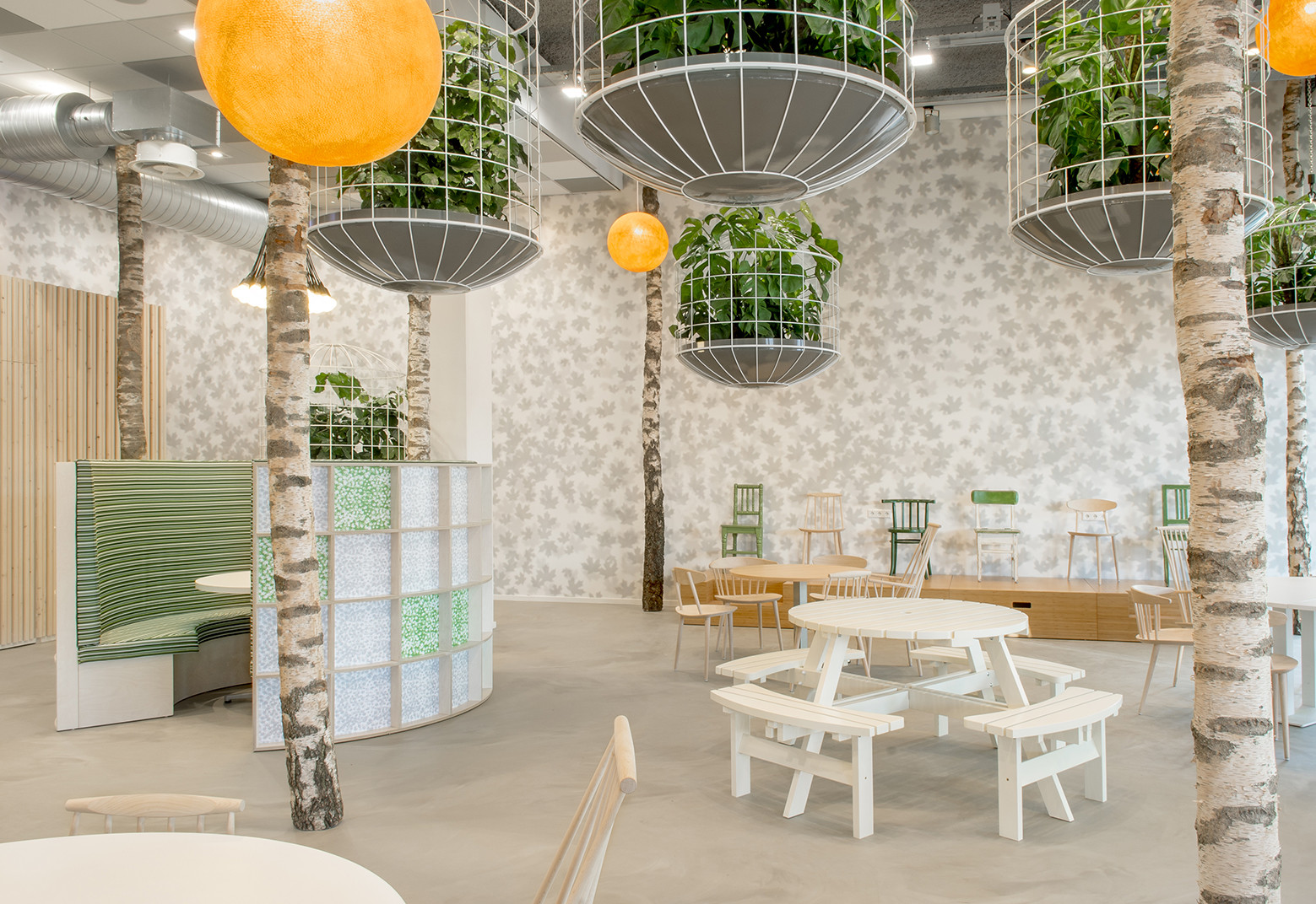 PARK-T公园全案餐厅就餐区设计